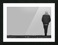 Solitude Picture Frame print