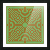 Labyrinth 6001 Picture Frame print