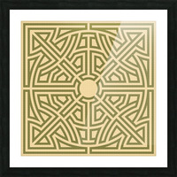 Labyrinth 6002 Picture Frame print