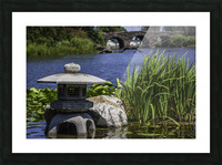 Pagoda in the Park Picture Frame print