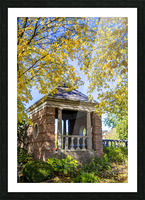 Shelter in the Fall Picture Frame print