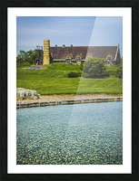 Quiet Space in the City Picture Frame print