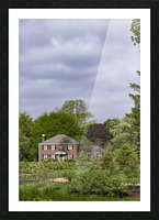 House in the Woods Picture Frame print
