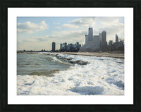 Lake Michigan Picture Frame print