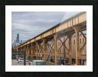 Take the Next Train Picture Frame print
