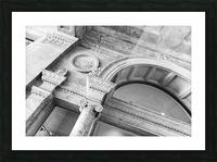 Decorating the City Picture Frame print