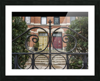 Two Neighbors Picture Frame print