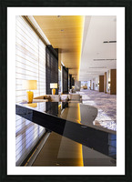Hotel Hallways Picture Frame print