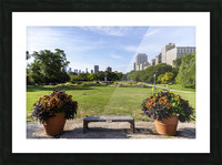 Look Through Lincoln Park Picture Frame print
