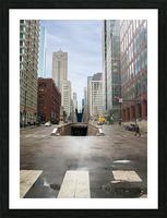 Underground Picture Frame print