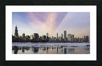 Chicago Skyline at Dusk Picture Frame print