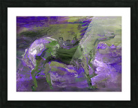 Ghost Rider - Violet Picture Frame print