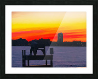 The Lifeguard  Picture Frame print