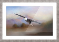 With the Winds Picture Frame print