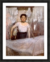 Woman Ironing by Degas Picture Frame print