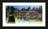 The Tranquil Span Picture Frame print