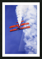 Daredevil in Red Picture Frame print