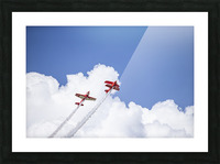 Red Against a Blue Sky Picture Frame print
