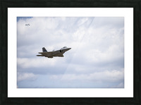 Military Pass Picture Frame print