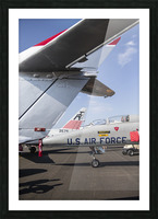 A Line of Planes Picture Frame print