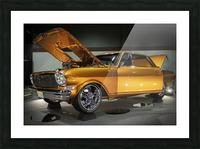 1966 Chevy II Nova Picture Frame print