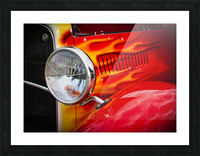 Light the Flames Picture Frame print