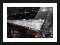 1957 Chevy Belair Picture Frame print