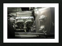 Modified Engine Picture Frame print