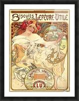 Biscuits Lefevre-Utile Picture Frame print