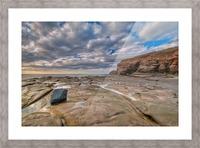 Low Tide in Petit Etang Picture Frame print