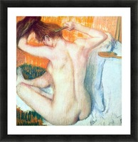 Women at the toilet 2 by Degas Picture Frame print