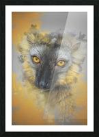 Lemurien Picture Frame print