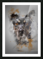 Chien Picture Frame print