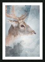 Cerf  Picture Frame print