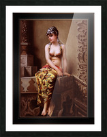 Enchantress by Luis Ricardo Falero Classical Art Xzendor7 Old Masters Reproductions Picture Frame print