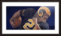 1959 LA Rams Vintage Football Art Picture Frame print