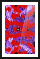 Purple Explorer Picture Frame print