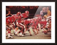 1977 UCLA vs. Houston Football Action Picture Frame print