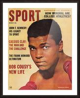1964 Sport Magazine Muhammad Ali Cover Picture Frame print