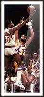 1981 Knicks vs. Lakers Art Picture Frame print