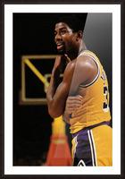 1984 Magic Johnson Row 1 Picture Frame print