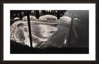 1963 Yankee Stadium Art Picture Frame print