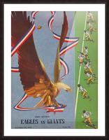 1941 Philadelphia Eagles vs. Giants Picture Frame print