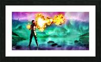 Battlemage Picture Frame print