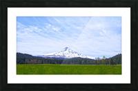 Majestic Mount Hood   Cascade Mountain Range Oregon Picture Frame print