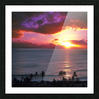 Serenity - Perfect Bliss - Sunset Picture Frame print