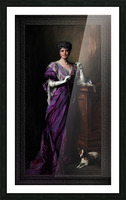 Lady White Todd by Philip de Laszlo Classical Fine Art Xzendor7 Old Masters Reproductions Picture Frame print