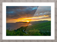 Good Morning Pleasant Bay Picture Frame print