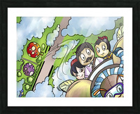 Let Your Dreams Take Flight - A Dream of Tomorrow  - Bugville Critters Picture Frame print
