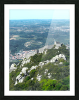 Castelo dos Mouros - Castle of the Moors - Sintra Portugal Picture Frame print